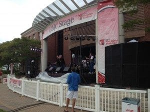 Band Plays at Herndon Festival
